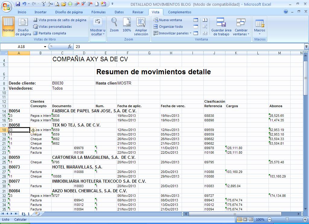Formatos De Excel Para Reportes Lovely Jlasesoress Excel