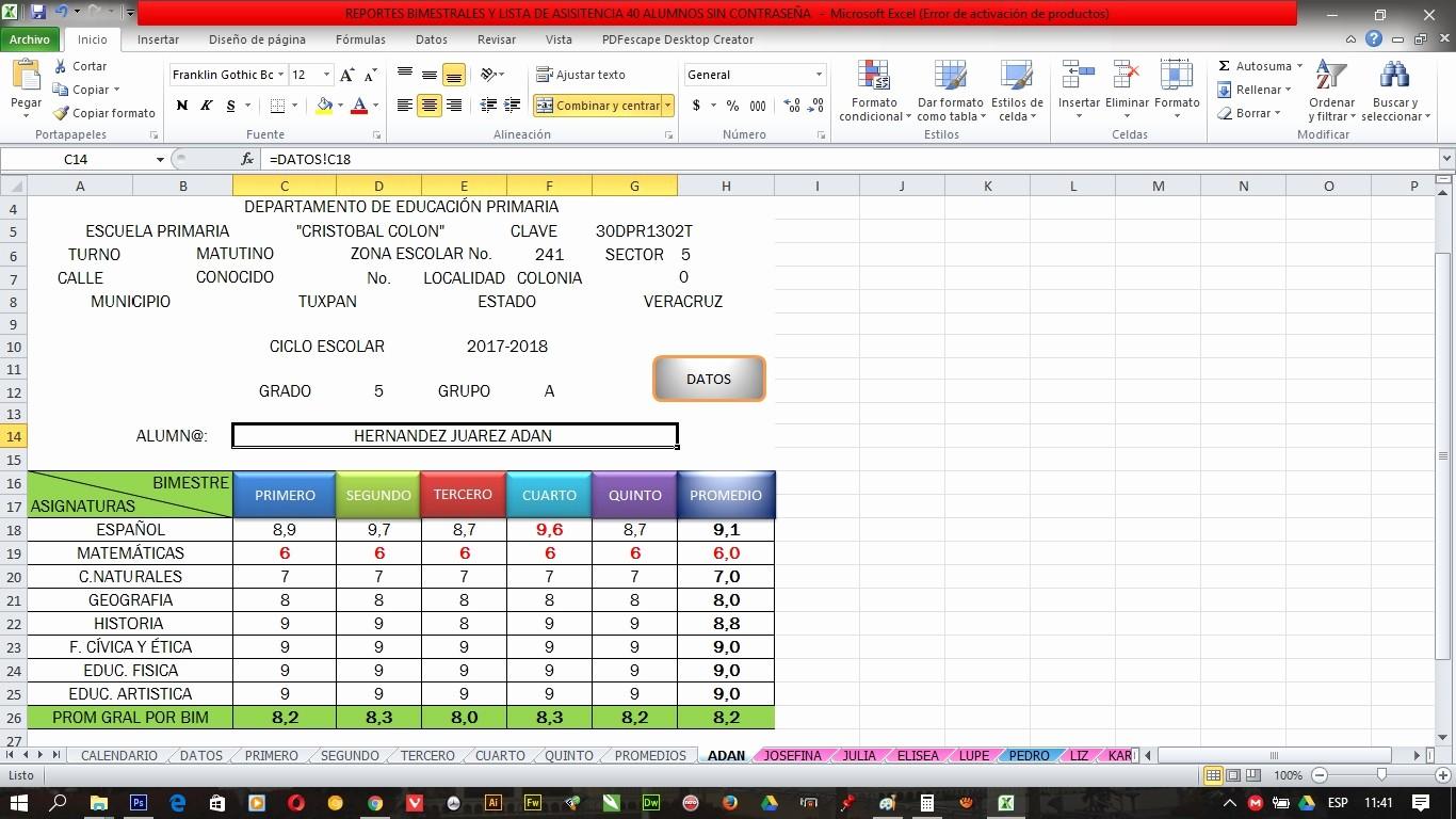 Formatos De Excel Para Reportes Unique formato En Excel Reportes Bimestrales Y Lista De