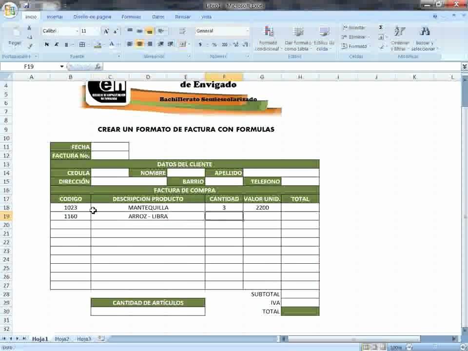 Formatos De Facturas En Excel Awesome formatos De Factura En Excel Excel De Modelos De Factura