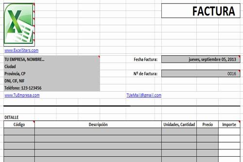 Formatos De Facturas En Excel Luxury Plantillas Excel Plantilas Para Excel Plantillas