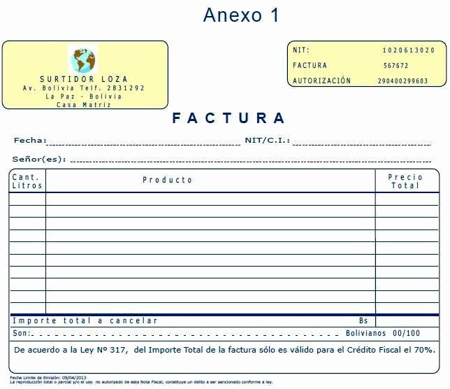 Formatos De Facturas Para Llenar Inspirational Unidad De Contadores Públicos Autorizados Auditores
