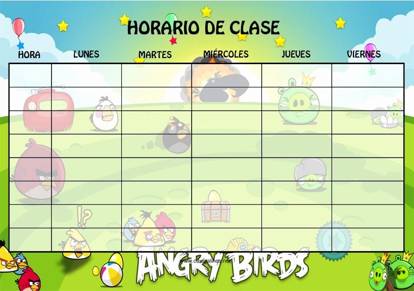 Formatos De Horarios Para Imprimir Best Of 10 Modelos De Horarios Escolar Para Niños