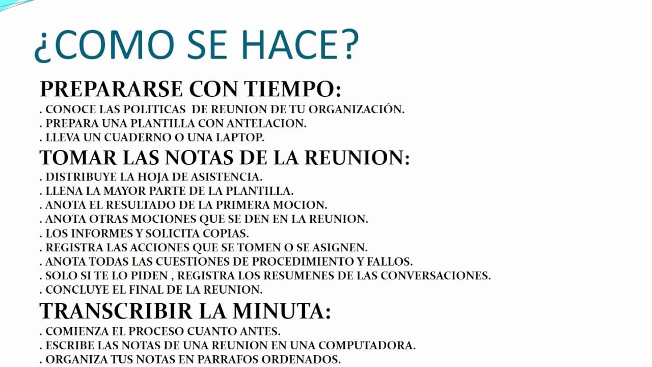 Formatos De Minutas De Reunion Awesome Que Es La Minuta Y Acta De Reunion