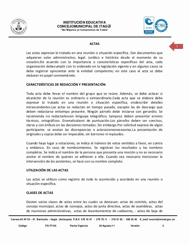 Formatos Para Actas De Reuniones Best Of Plantilla De Actas