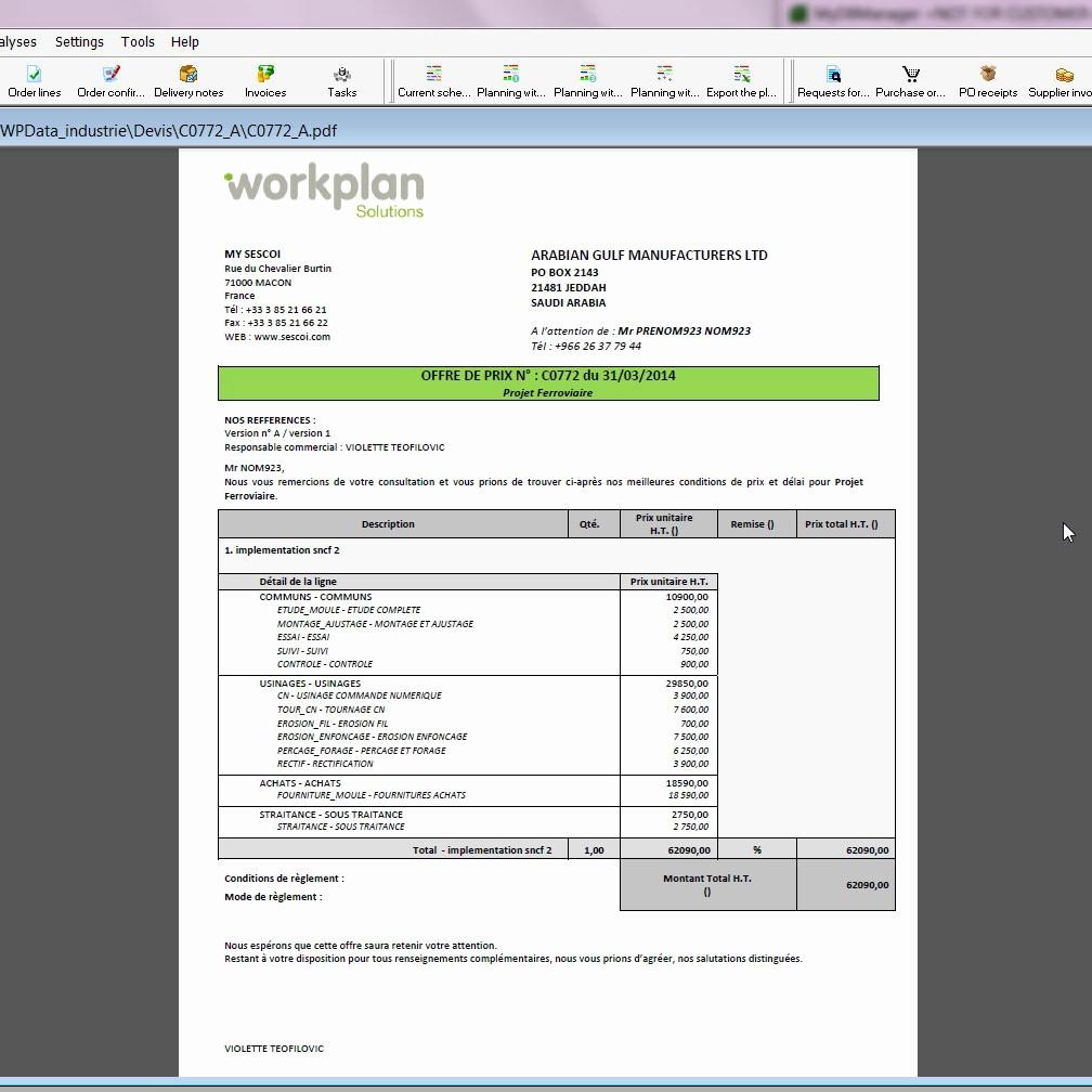 Formatos Para Cotizaciones O Presupuestos Elegant Workplan