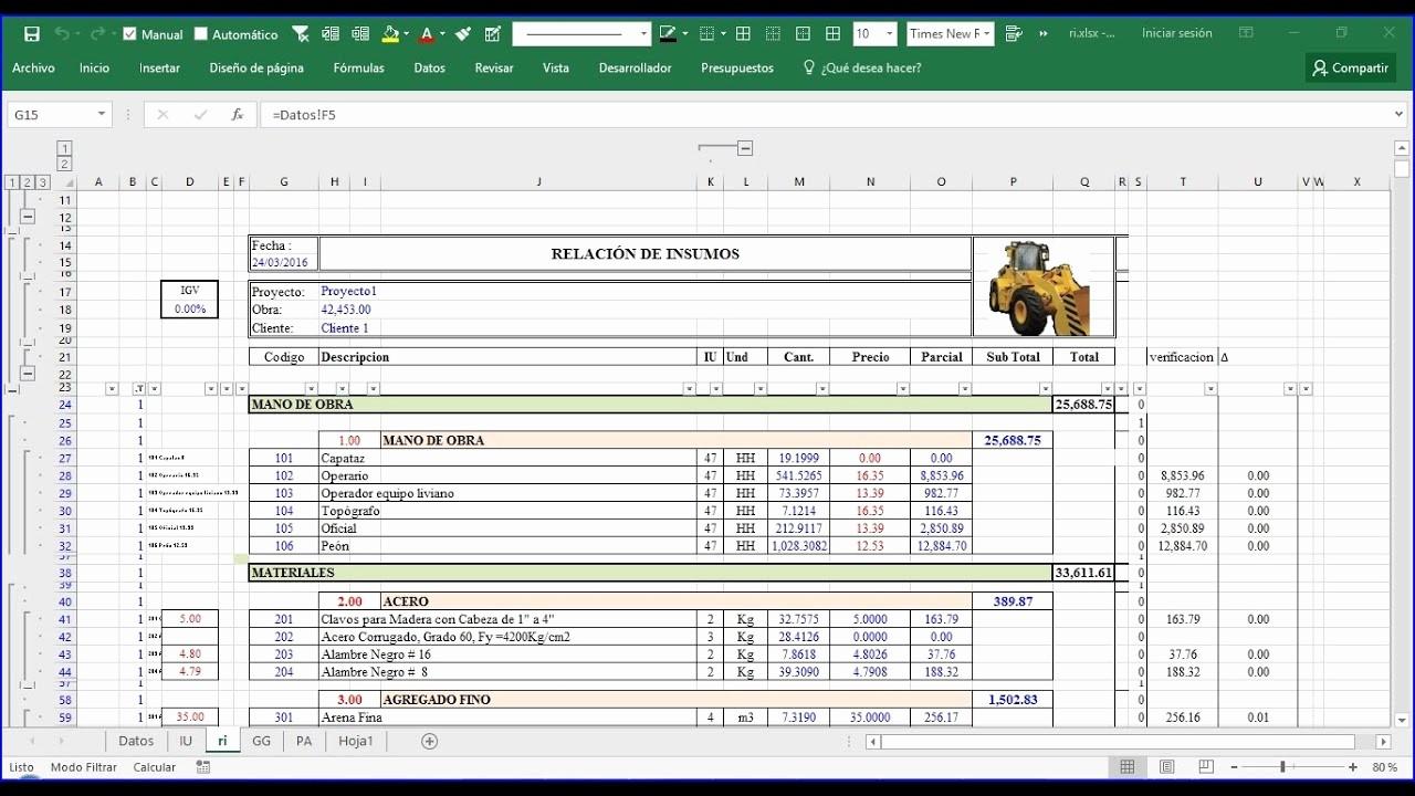 Formatos Para Cotizaciones O Presupuestos Unique Modelo De Presupuesto Excel Introduccion 3