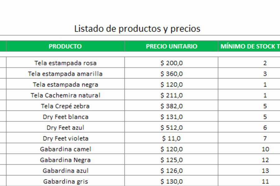 Formatos Para Presupuestos En Excel Fresh formato De Presupuesto En Excel