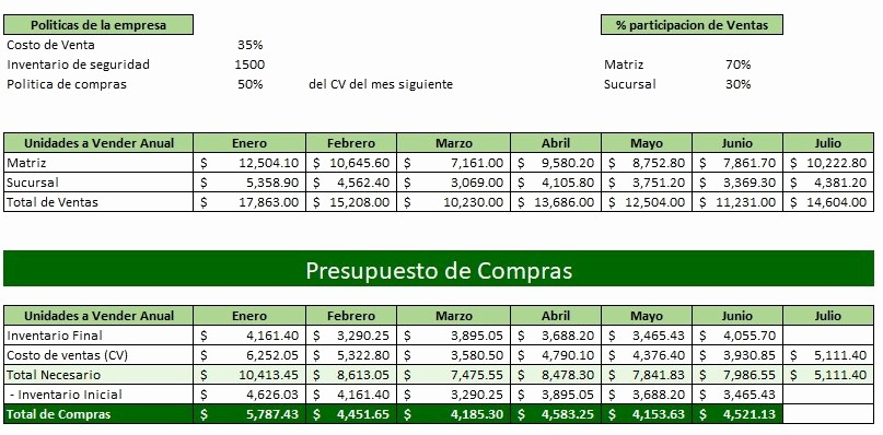 Formatos Para Presupuestos En Excel Fresh Presupuesto De Pras Ejemplos Y formatos
