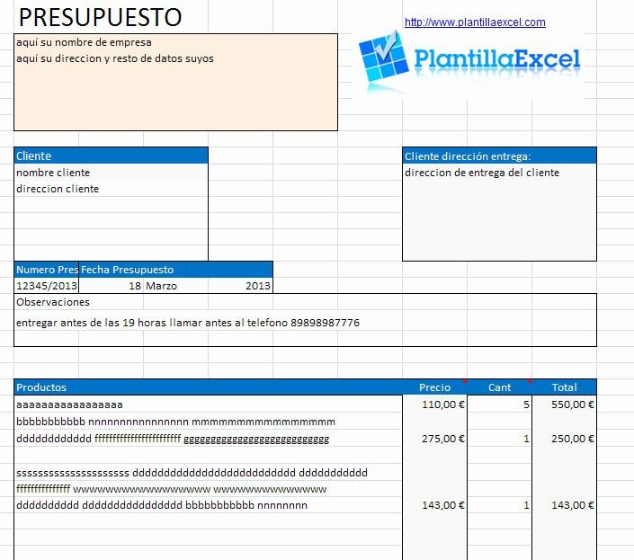 Formatos Para Presupuestos En Excel Unique Ejemplos Modelos formatos Plantillas De Cotizaciones – Contar