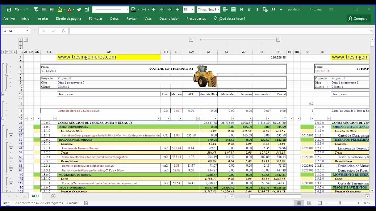 Formatos Para Presupuestos En Excel Unique O Hacer Un Presupuesto Excel Presentacion