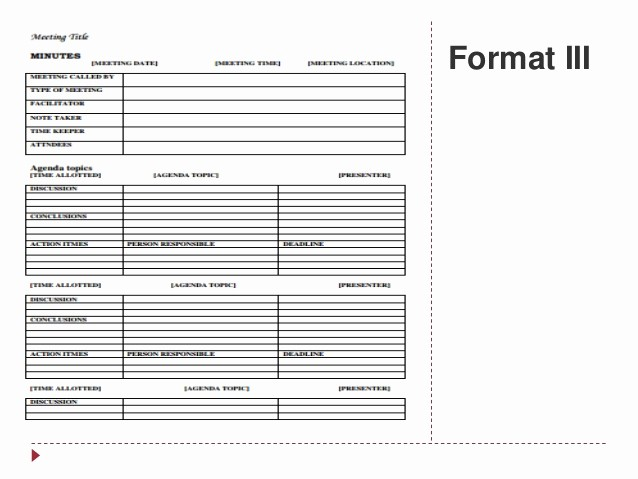 Formats Of Minutes Of Meeting Elegant Memo and Minutes Of Meeting