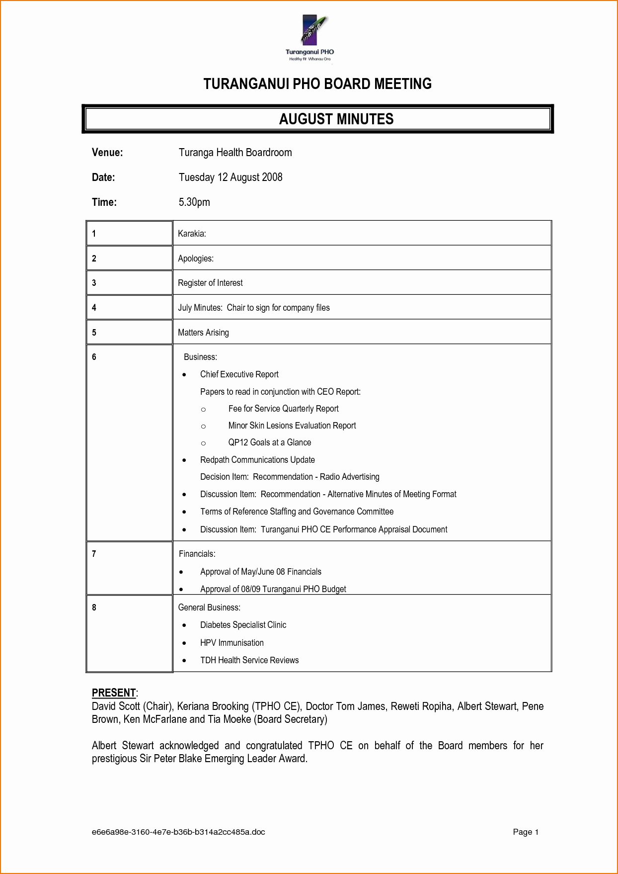 Formats Of Minutes Of Meeting Inspirational 4 Meeting Notes format