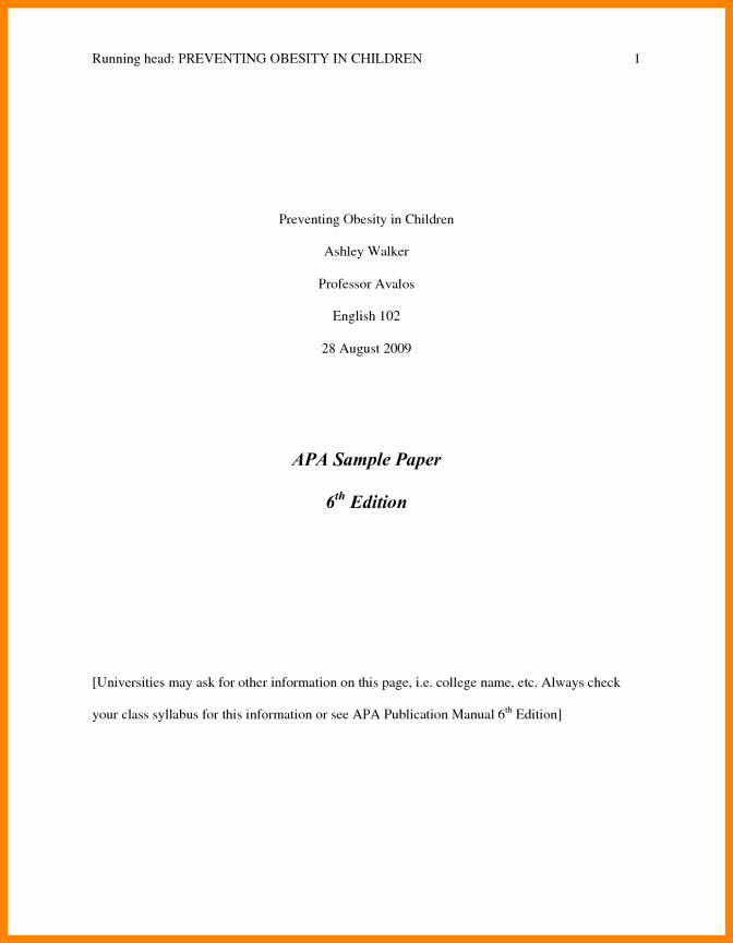 Formatting Apa Paper In Word Best Of Apa format Sample Paper Word