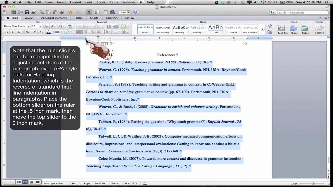 Formatting Apa Paper In Word Lovely Descriptive Essay My Best Friend Video Dailymotion