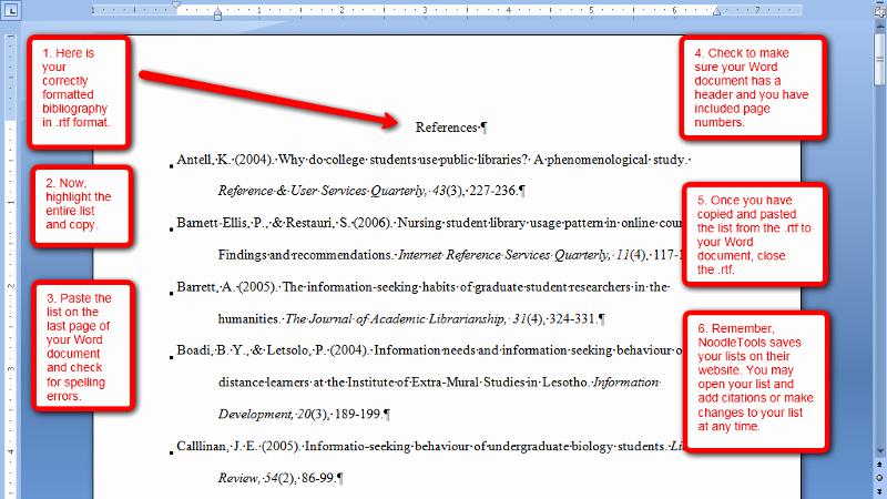 Formatting Apa Paper In Word New Apa format