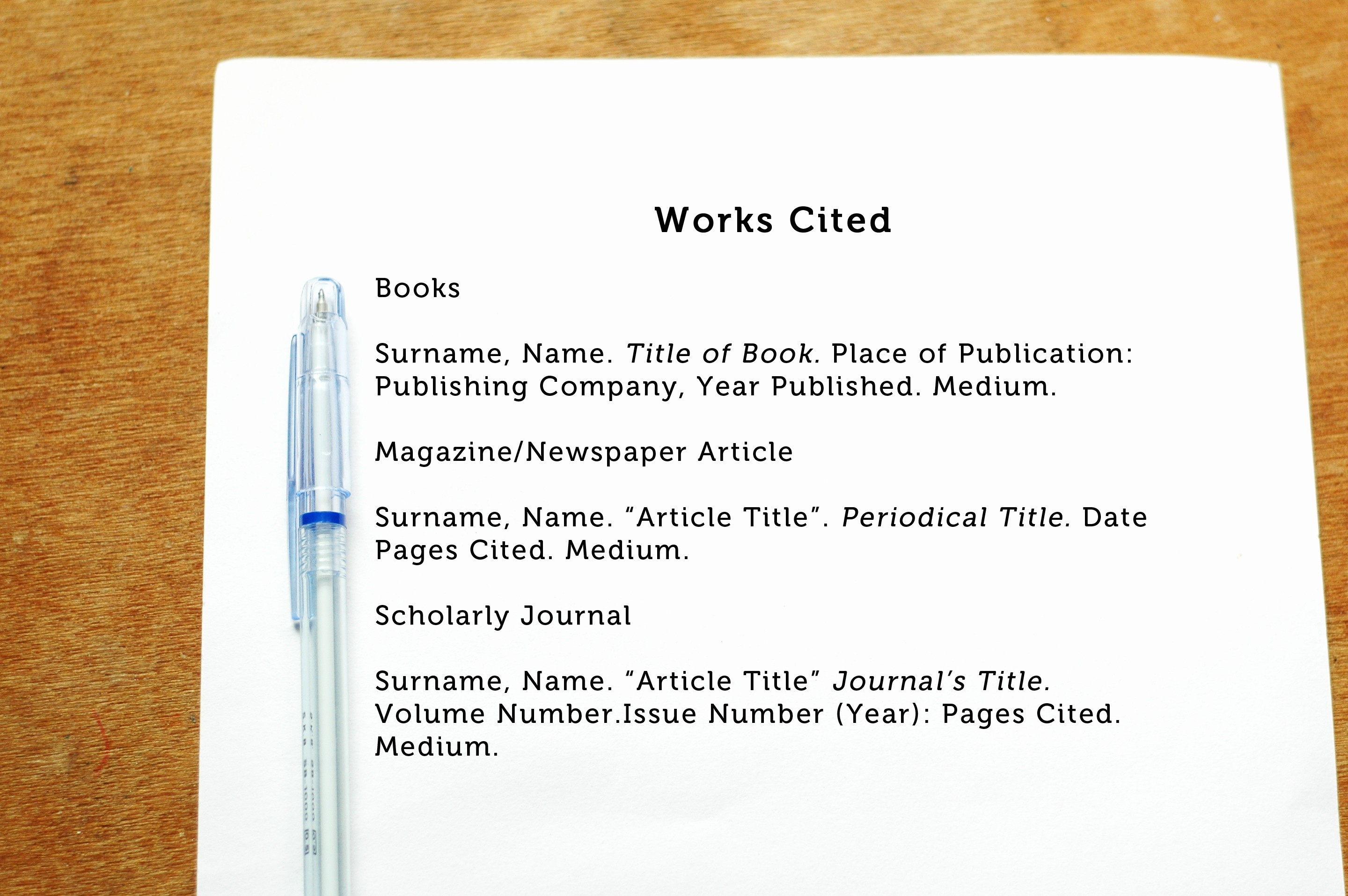 Formatting Mla Works Cited Page Beautiful How to Cite An Author In Mla format 5 Steps with