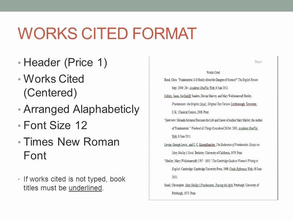 Formatting Mla Works Cited Page Fresh Mla format Essay Heading 2011
