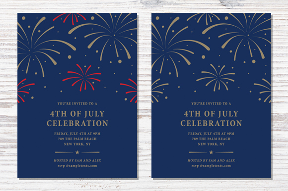 Fourth Of July Invitation Template Elegant Fourth Of July Invitation Template Invitation Templates
