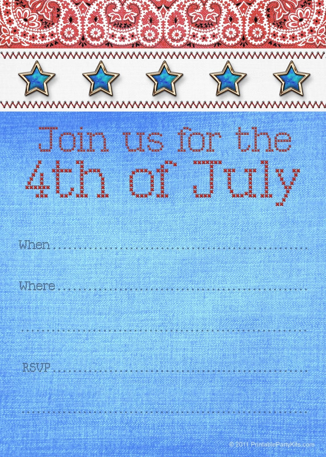 Fourth Of July Invitation Template Lovely Free Printable Holiday Party Invitation Template