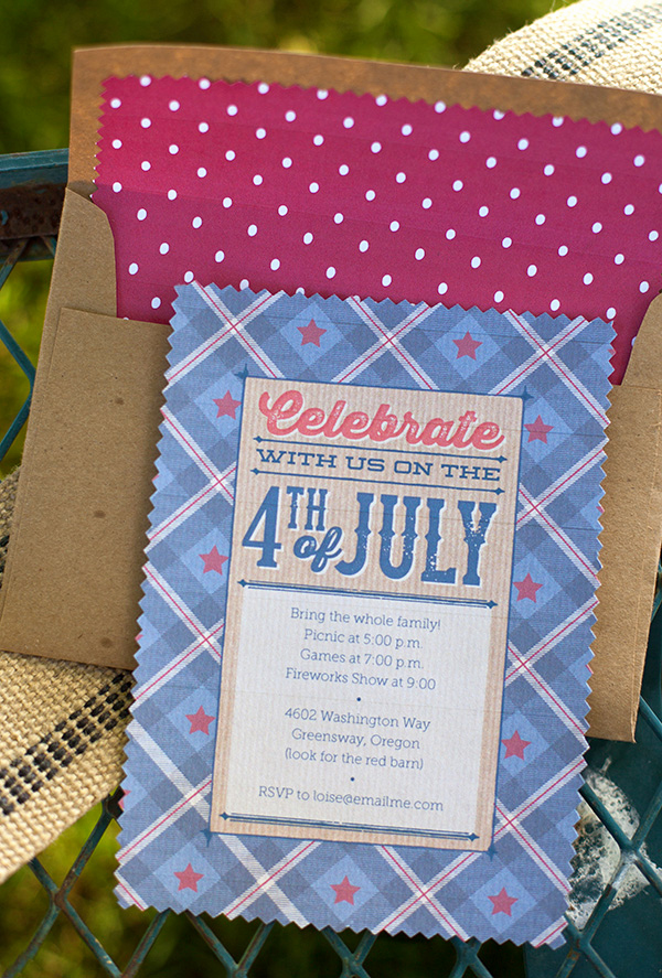 Fourth Of July Party Invitations Inspirational Vintage Americana 4th Of July Party