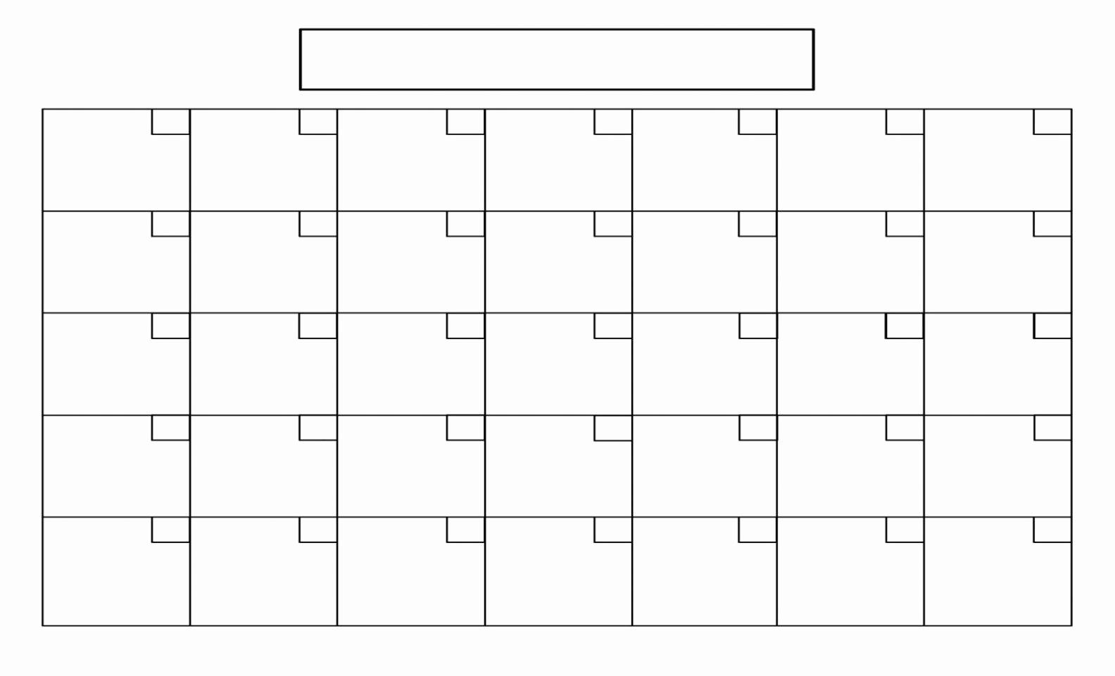 Free 12 Month Calendar 2017 New Free Calendar Printable Template Blank 12 Month Calendar