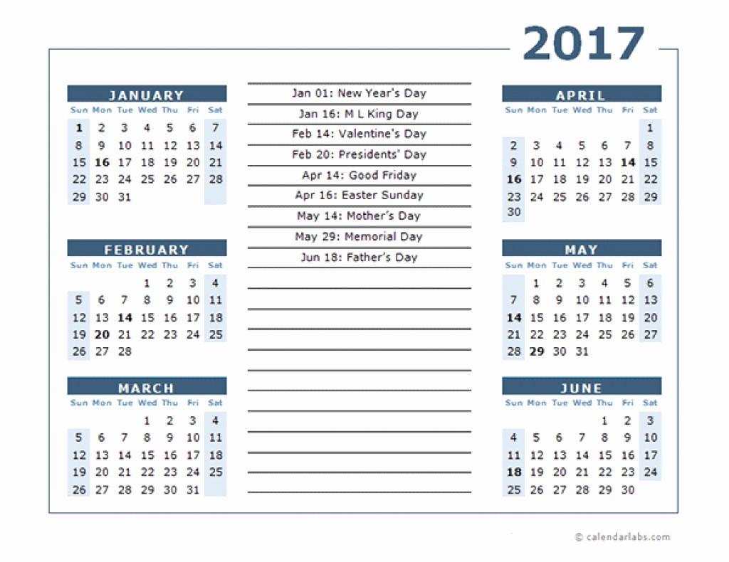 Free 12 Month Calendar 2017 New Printable 6 Month Calendar Printable 360 Degree