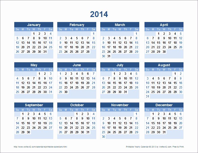 Free 2015 Yearly Calendar Template Luxury Free Printable Calendar Printable Monthly Calendars