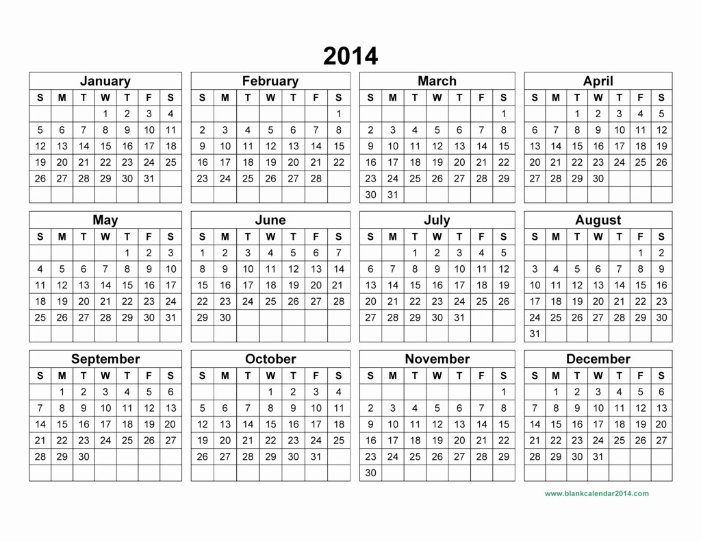 Free 2015 Yearly Calendar Template New 16 Blank Calendar Template 2014 2015 August 2015