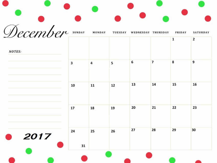 Free 2017 Printable Calendar Word Best Of December 2017 Printable Calendar Excel Word Pdf