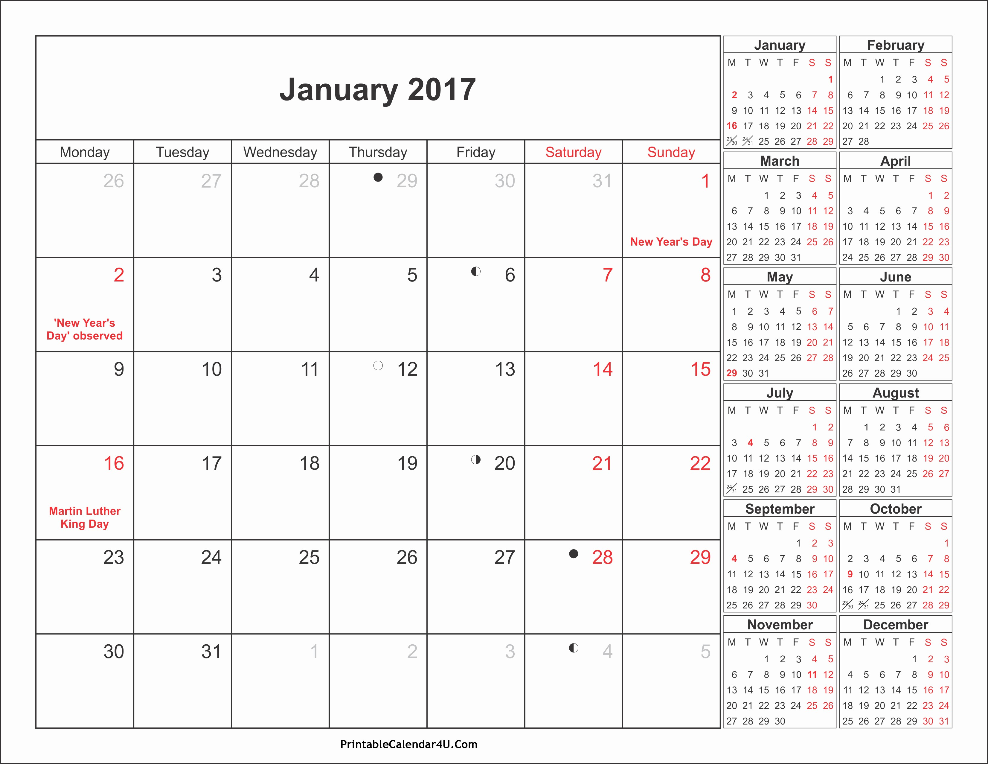 Free 2017 Printable Calendar Word New September 2017 Calendar Word