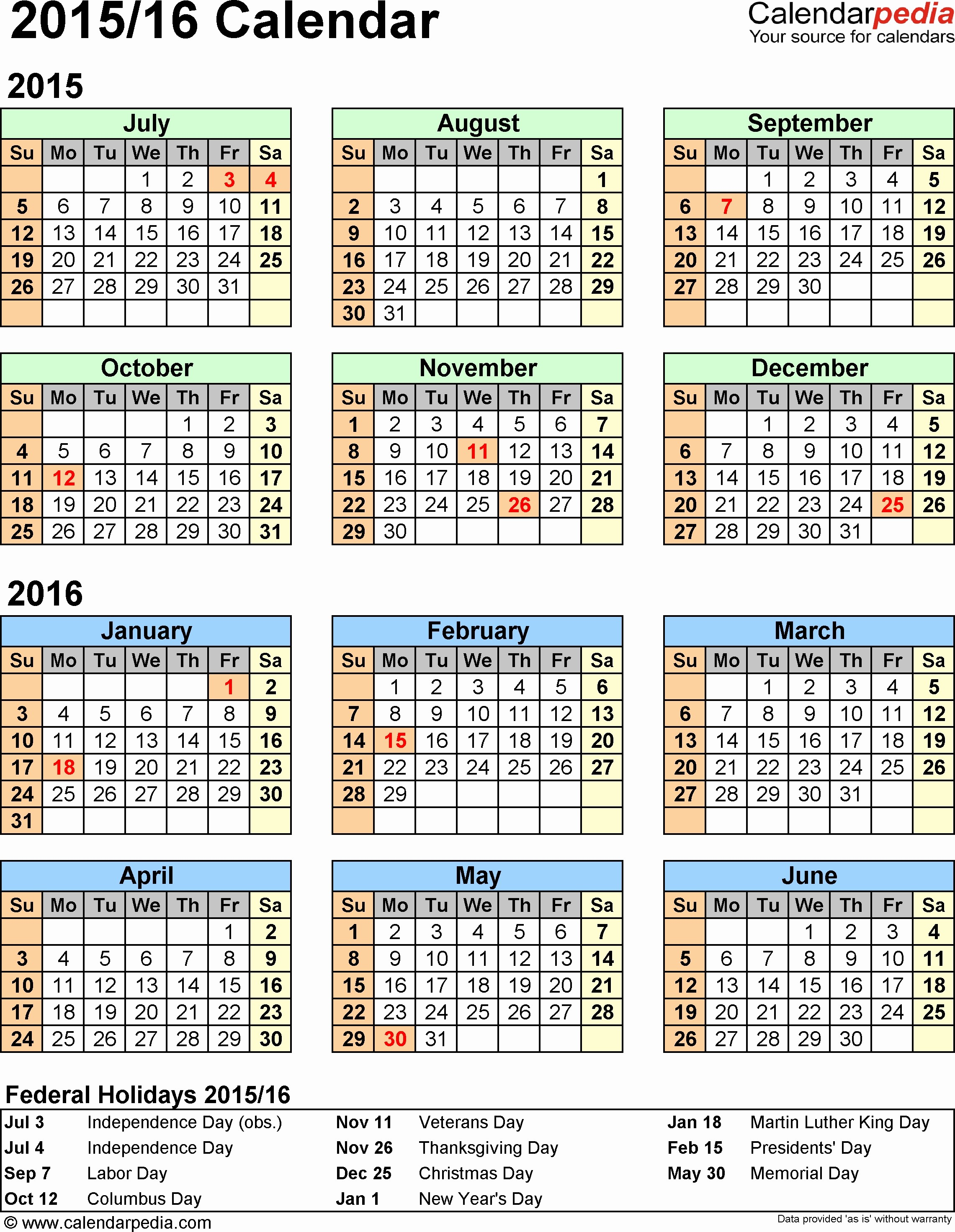 Free 2017 Yearly Calendar Template Inspirational Printable 2016 2017 Financial Year Calendar Kwik Kopy