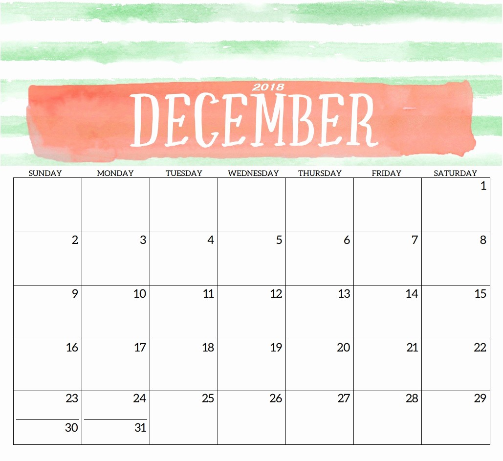 Free 2018 Monthly Calendar Template Best Of Blank Templates Monthly 2018