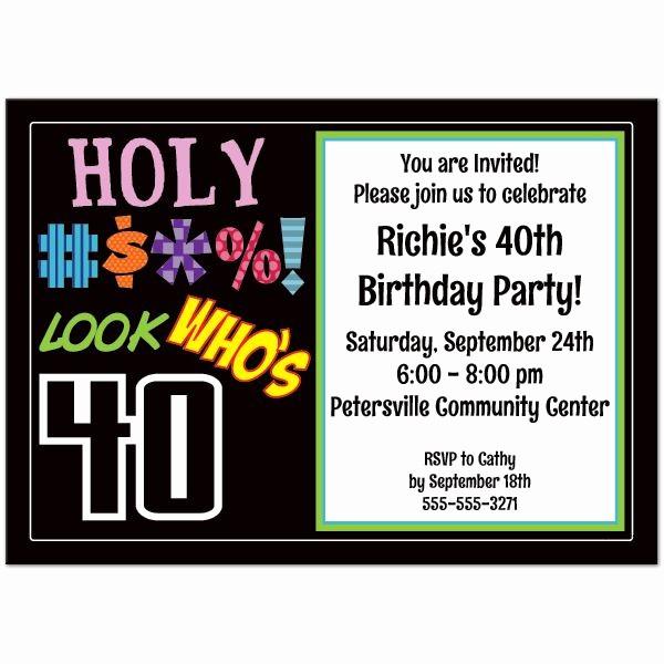 Free 40th Birthday Invitations Templates Awesome Pin by Drevio Invitation On Free Printable Birthday