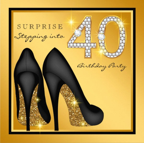 Free 40th Birthday Invitations Templates Fresh 45 Birthday Invitation Templates Psd Ai