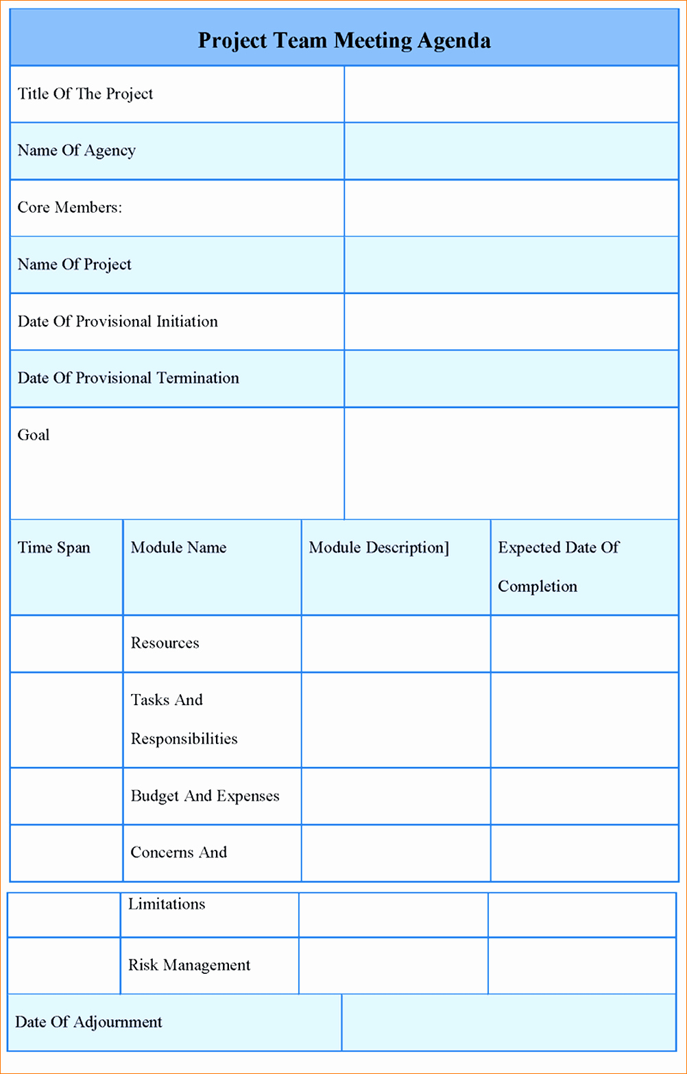 Free Agenda Templates for Word Lovely Meeting Agenda format Radioberacahgeorgia