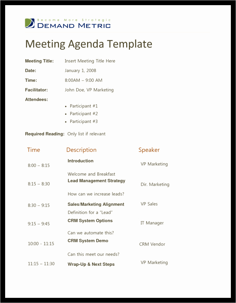 Free Agenda Templates for Word Luxury Agenda Template Word Example Mughals