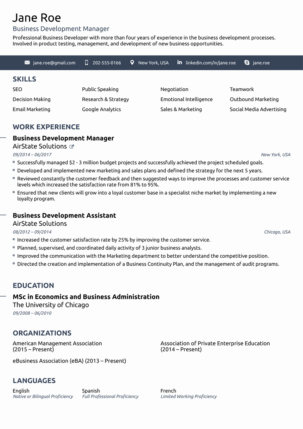 Free and Easy Resume Templates Elegant 2018 Professional Resume Templates as they Should Be [8 ]