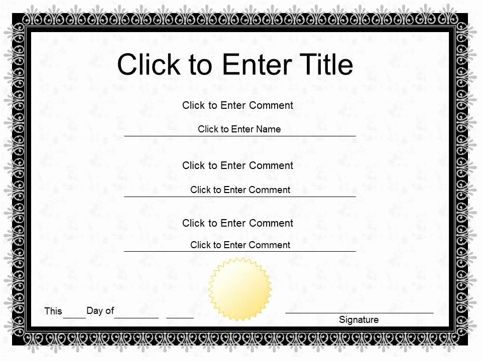 Free Award Certificate Template Word Beautiful Pletion Certificate Template