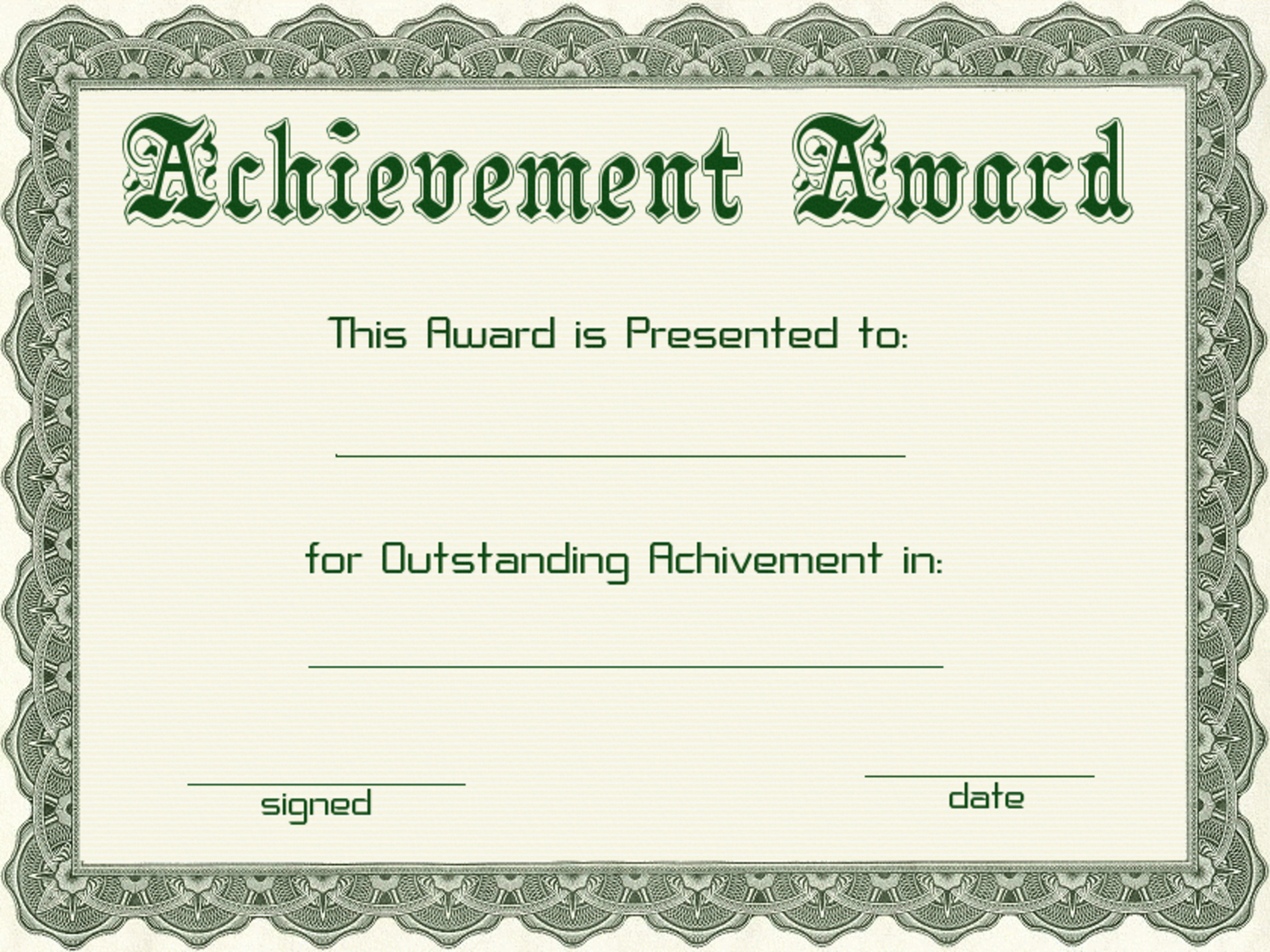 Free Award Certificate Template Word Best Of Certificate Templates