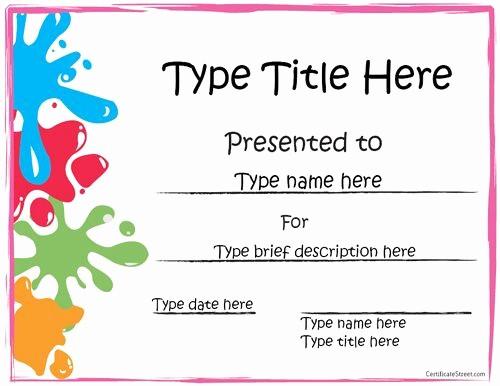 Free Award Certificate Template Word Luxury Templates Of Award Certificates