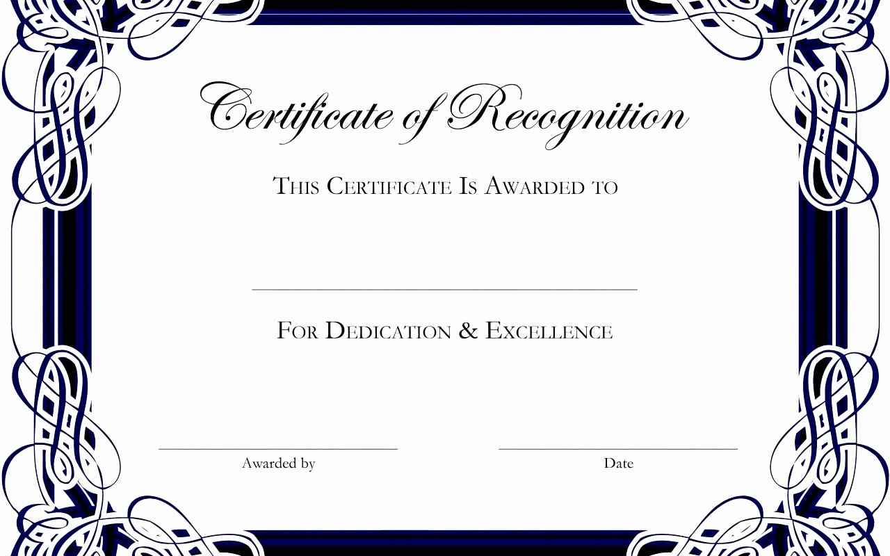 Free Award Certificate Template Word Unique Army Certificate Achievement Template Example Mughals