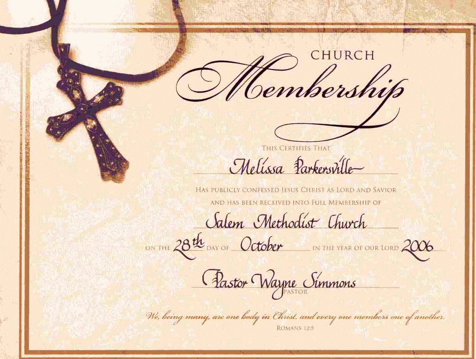 Free Baptism Certificate Template Word Elegant 10 Best Free Printable Church Appreciation