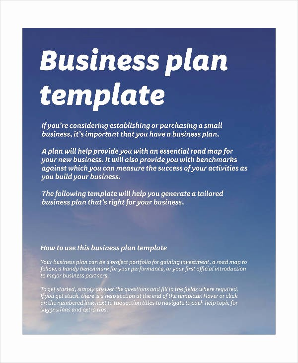Free Basic Business Plan Template Fresh Basic Business Plan Templates 12 Free Pdf format
