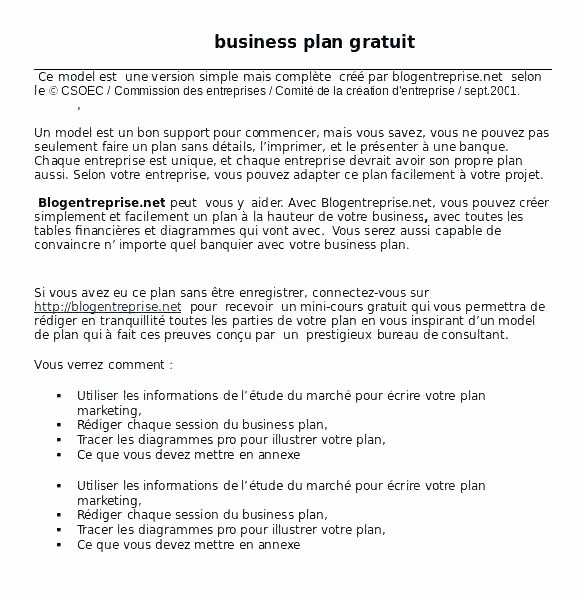 Free Basic Business Plan Template Fresh Business Plan Case Study Examples Simple Business Plan