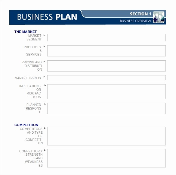 Free Basic Business Plan Template Luxury Business Plan Templates 43 Examples In Word