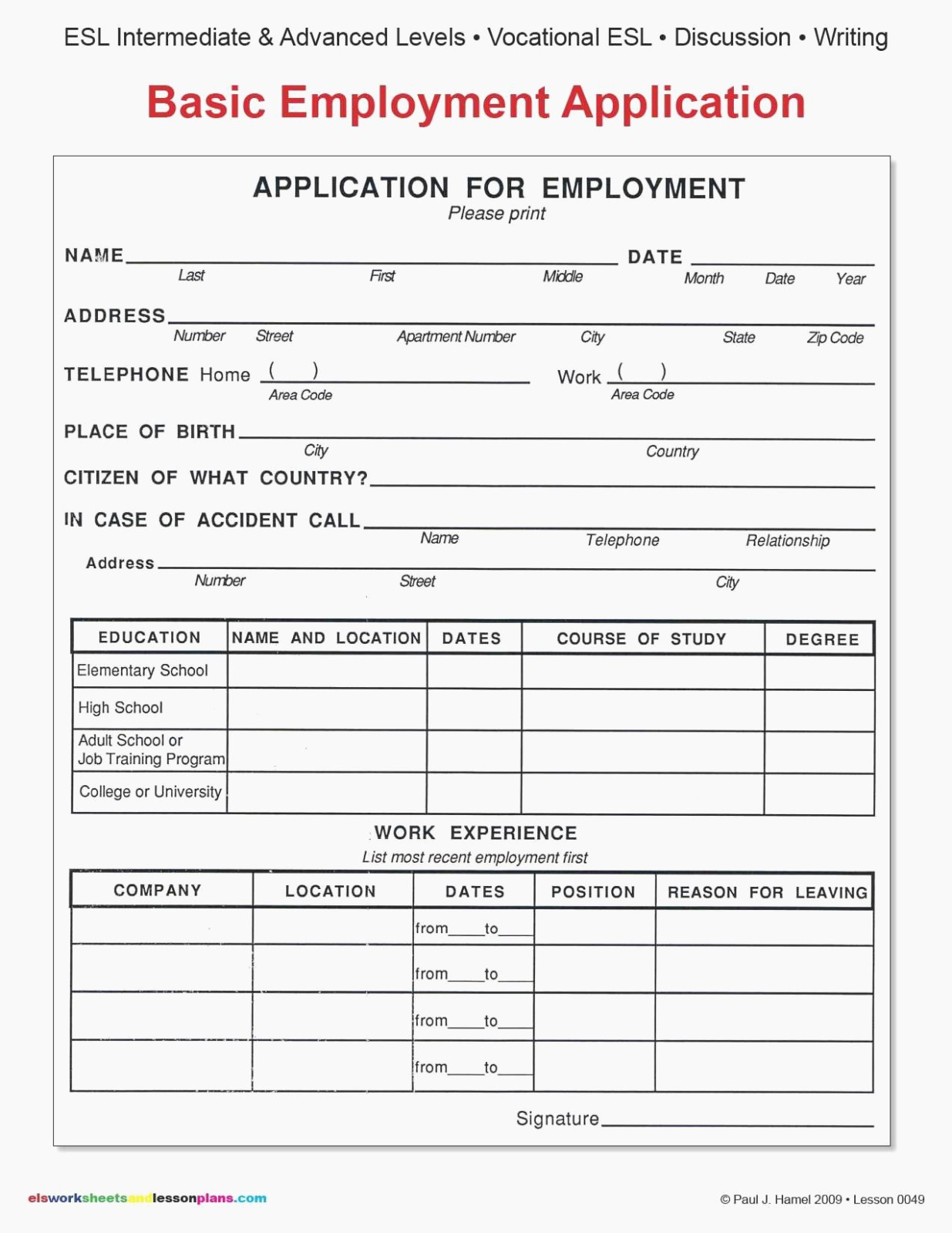Free Bilingual Employment Application form Inspirational 100 Employment Application oregon State Legislature Free