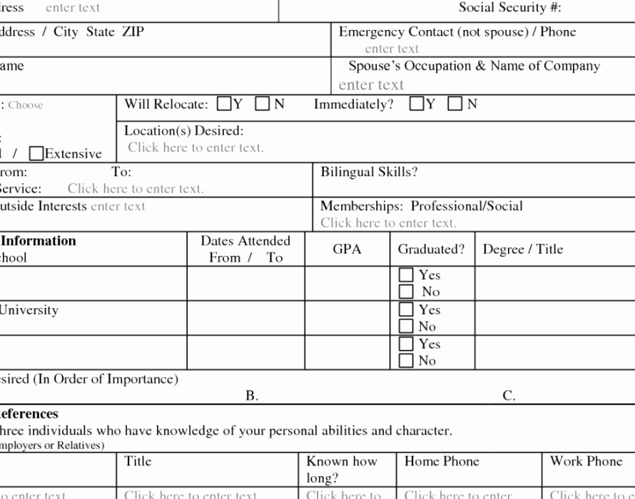 Free Bilingual Employment Application form Lovely Chick Fil A Application Printable Fresh 6 Chick Fil A Job