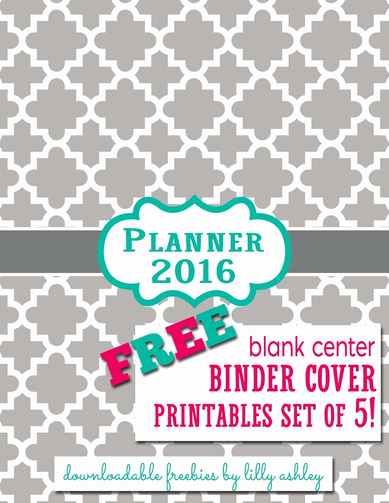 Free Binder Covers and Spines Awesome Make It Create by Lillyashley Freebie Downloads Free