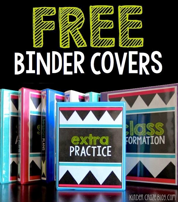 Free Binder Covers and Spines Elegant 60 Best Ideas About Teaching Misc On Pinterest