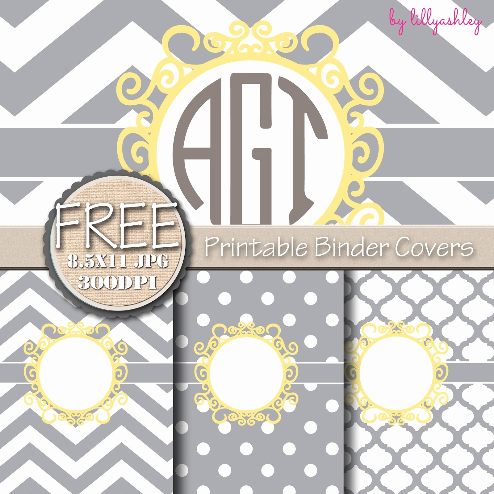 Free Binder Covers and Spines Inspirational Make It Create by Lillyashley Freebie Downloads Freebie